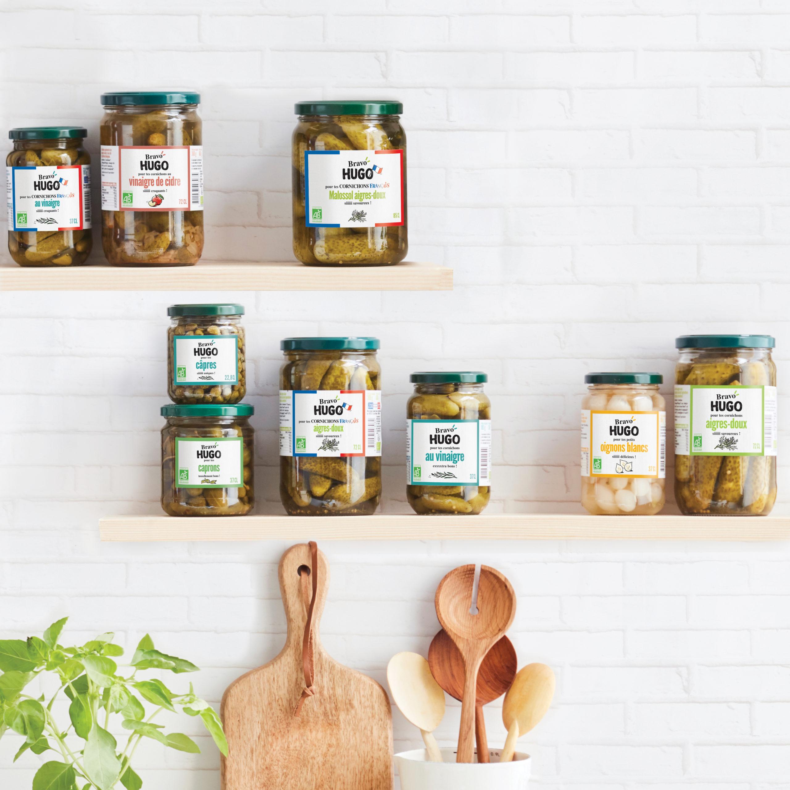 Bravo Hugo cornichons pickles