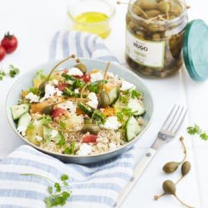salade caprons bio bravo hugo